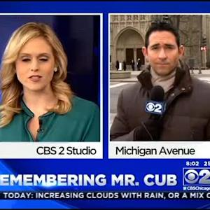 Family, Fans Say Farewell To 'Mr. Cub'