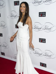 Padma Lakshmi attends Keep a Child Alive's ninth annual Black Ball on Thursday, Dec. 6, 2012 in New York. (Photo by Charles Sykes/Invision/AP)