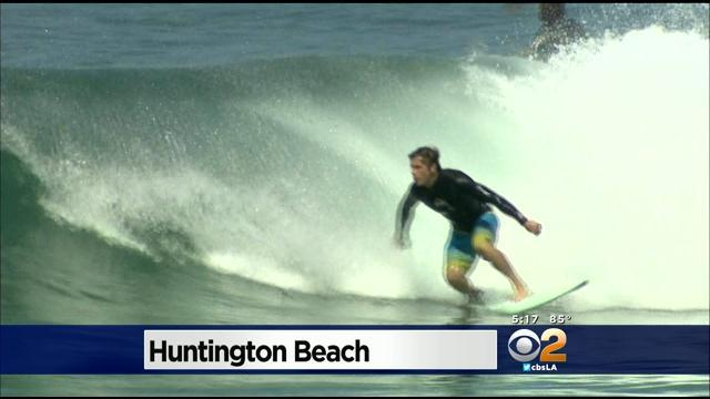 Huntington Beach Police Amp Security For U.S. Open Of Surfing Following Last Year's Melee