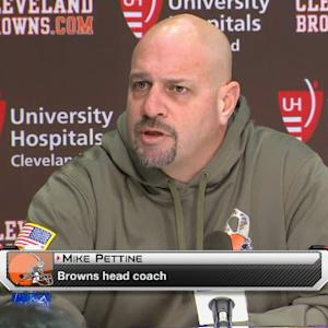 Cleveland Browns coach Mike Pettine: Manziel not at fault for loss