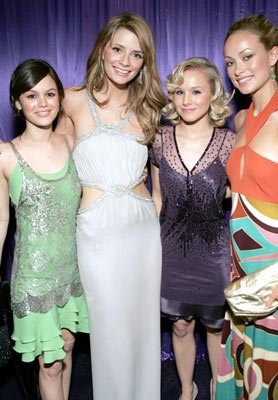 Rachel Bilson, Mischa Barton, Kristen Bell and  Olivia Wilde