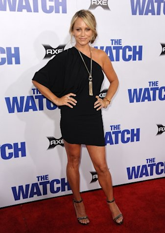 Christine Taylor attends the premiere of 'The Watch' at Grauman's Chinese Theatre on July 23, 2012 in Hollywood -- FilmMagic