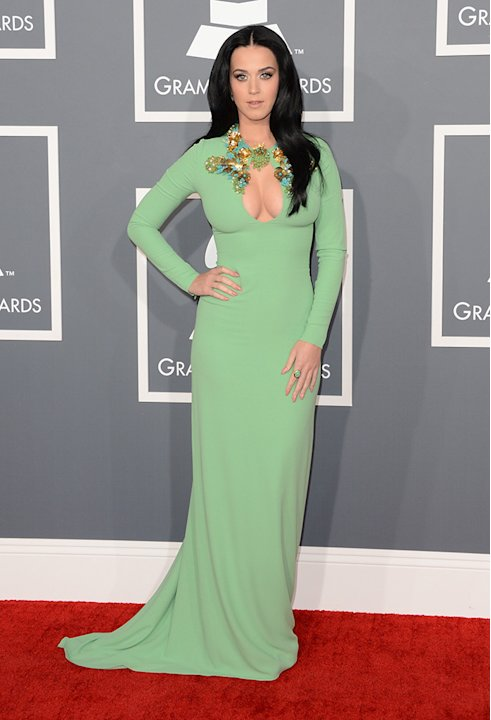 The 55th Annual GRAMMY Awards - Arrivals: Katy Perry