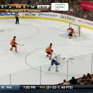 Steve Mason Save on Phil Kessel (00:29/1st)