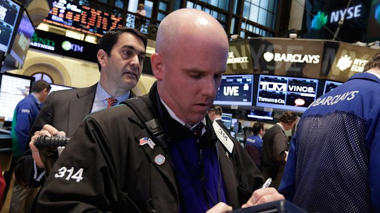 Stocks slip as shopping season has a weak start
