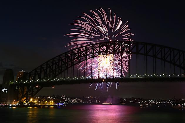 Sydney Celebrates New Year's Eve