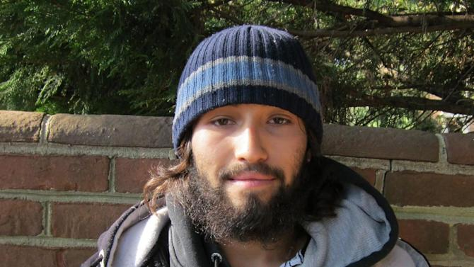 This image provided by the U.S. Park Police shows an undated image of Oscar Ortega. U.S. Park Police have an arrest warrant out for Ortega, who is believed to be connected to a bullet hitting an exterior window of the White House Friday and was stopped by ballistic glass. An additional round of ammunition was also found on the exterior of the White House. The bullets were found Tuesday Nov. 15, 2011. (AP Photo/U.S. Park Police)