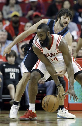 Harden, Lin rally Rockets past Minnesota
