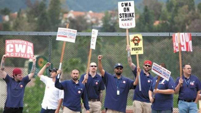 AT&T workers go on strike in three states [updated]