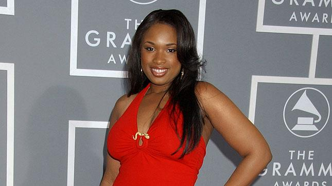 Jennifer Hudson at The 49th Annual Grammy Awards.