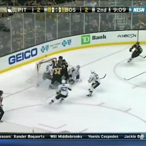 Marc-Andre Fleury Save on Milan Lucic (10:53/2nd)