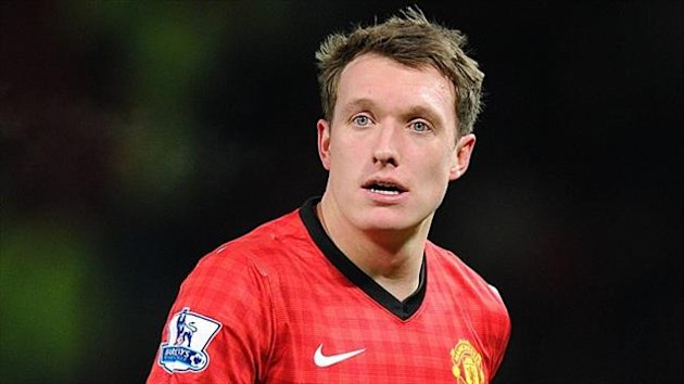 Phil Jones, pictured, has been praised by Sir Alex Ferguson
