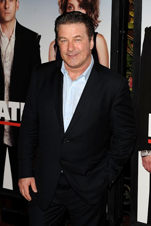 "Alec Baldwin attends the premiere of ""Date Night"" at Ziegfeld Theatre on April 6, 2010 in New York City."