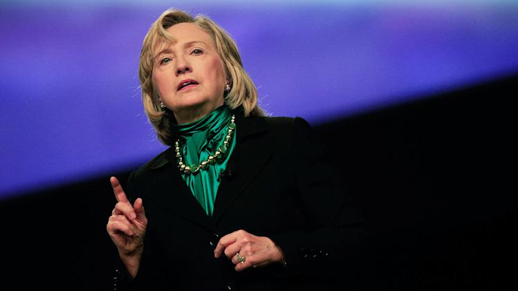 Hillary Clinton Addresses National Automobile Dealers Association Convention