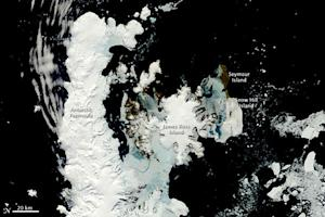 Antarctic Thawing Season Keeps Getting Longer