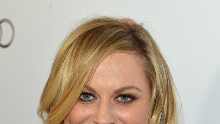 Amy Poehler arrives at the 2014 Television Academy Hall of Fame on Tuesday, March 11, 2014, at the Beverly Wilshire in Beverly Hills, Calif. (Photo by John Shearer/Invision for the Television Academy/AP Images)