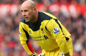 Liverpool boss Rodgers reveals Reina talks