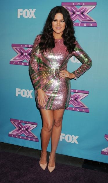 Khloe Kardashian Odom attends the FOX's 'The X Factor' Season Finale - Night 2 at CBS Televison City, Los Angeles, on December 20, 2012 -- Getty Images