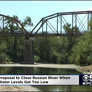 New Proposal Could Close Russian River To Fishermen When Water Gets Too Low