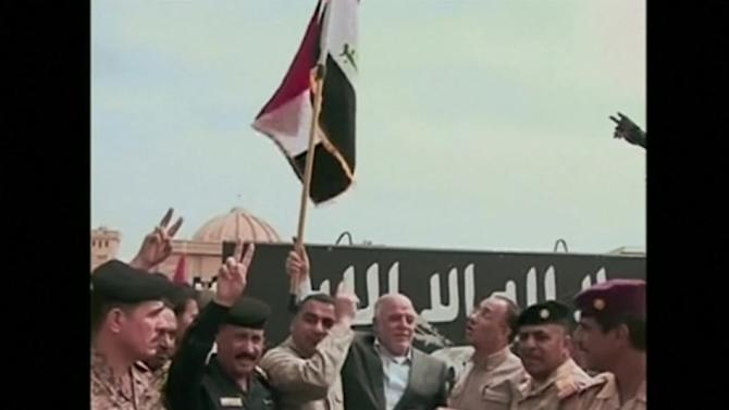 Iraq claims victory over IS in Tikrit