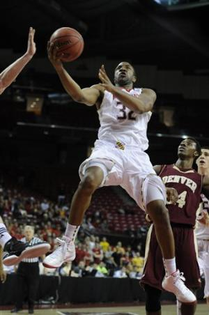 Maryland beats Denver 62-52 in 2nd round of NIT