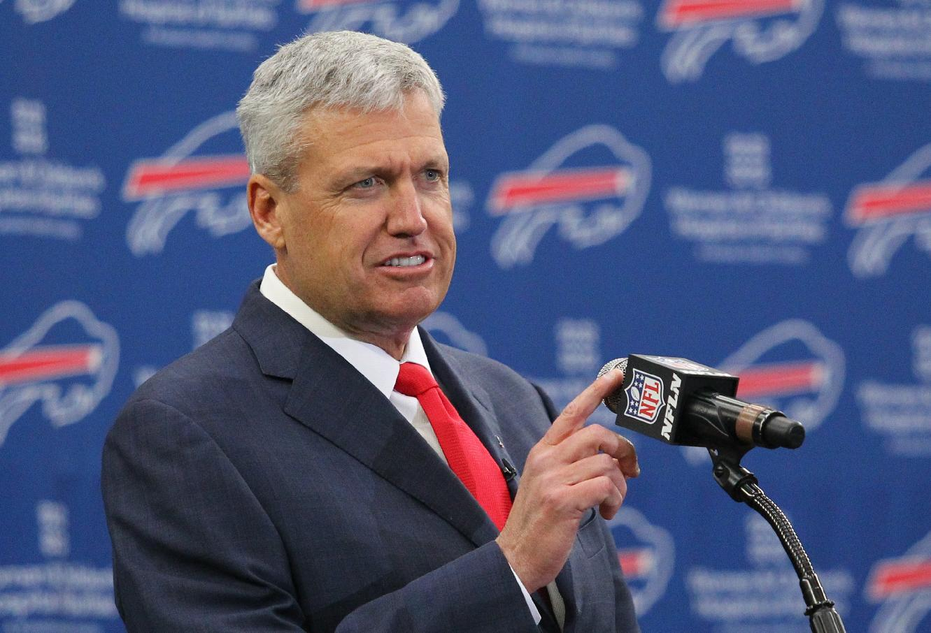 Mad Dash: Rex Ryan now driving a huge Buffalo Bills truck