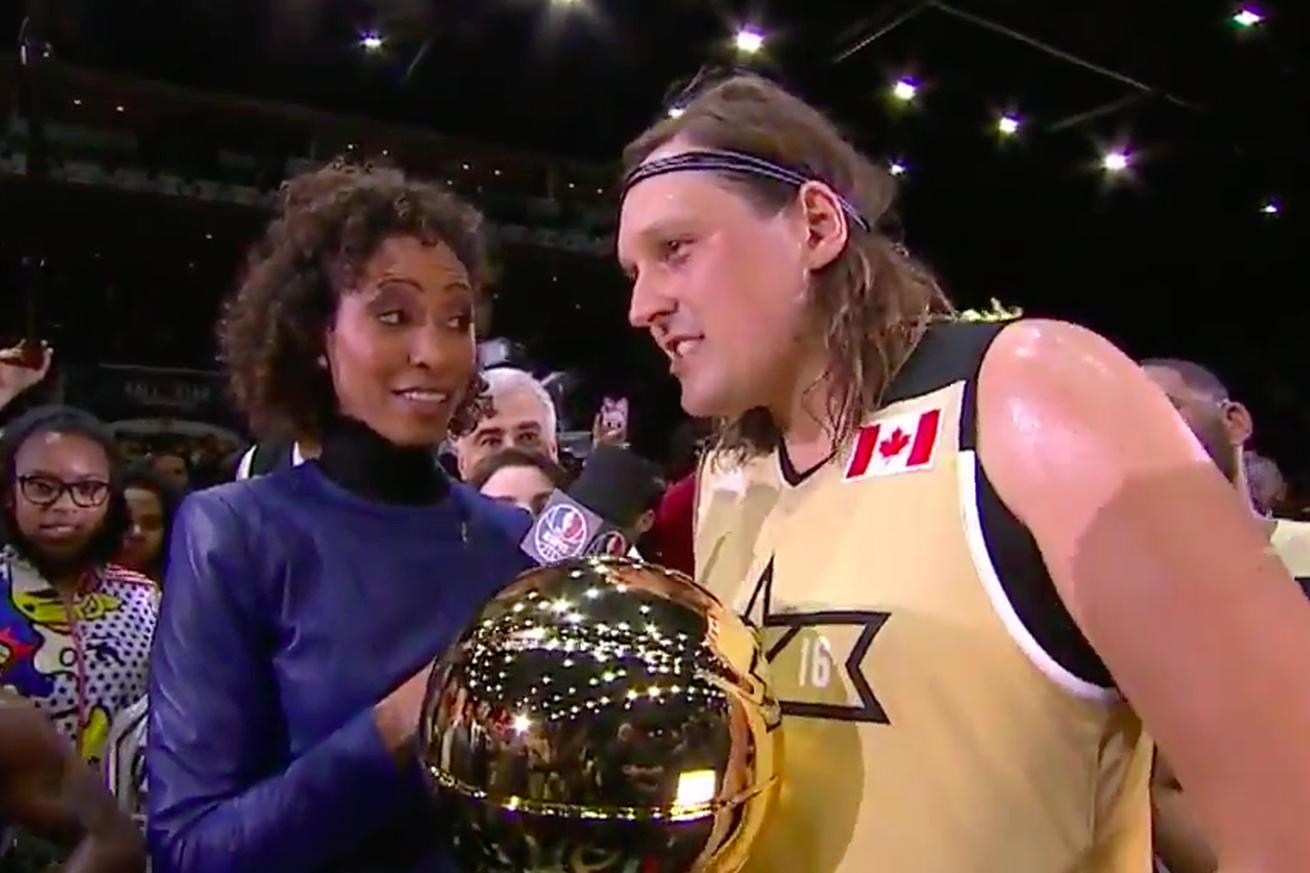 NBA celeb game MVP Win Butler has postgame political message interrupted by ESPN