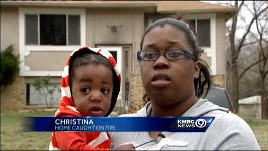 Red Cross helps KCK family after house fire