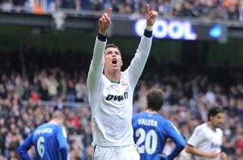 Real Madrid 4-0 Getafe: Ronaldo hat trick leads second-half surge
