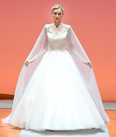 Alfred Angelo Presents a New Queen Elsa From Frozen Wedding Dress — and It's Even More Beautiful Than the Last One!