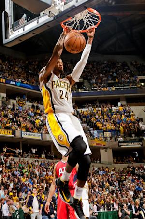Pacers rebound with 106-83 rout of Hawks in Game 5