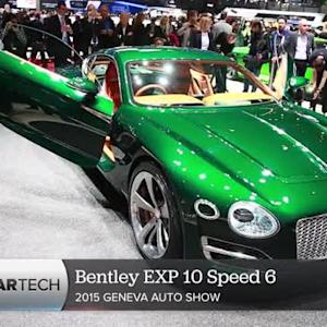 Bentley EXP 10 Speed 6 brings new curves to a classic brand