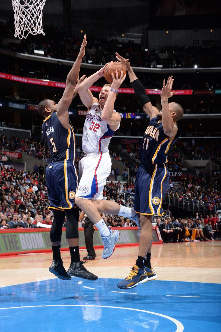 Clippers edge Pacers for 102-100 win