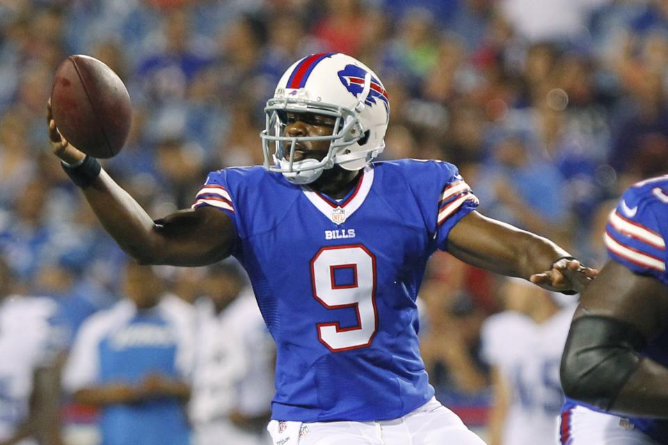 Bills turn to QB Thad Lewis as interim starter