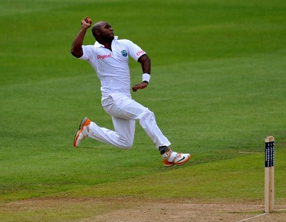 Tino Best was amongst the wickets for West Indies