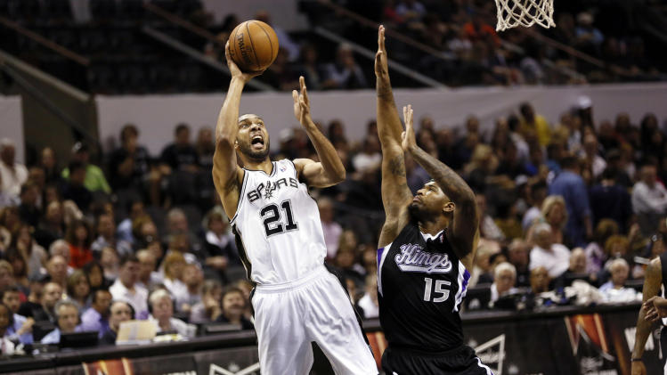 NBA: Sacramento Kings at San Antonio Spurs