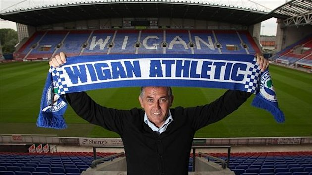 Owen Coyle will be looking to take Wigan straight back into the Premier League