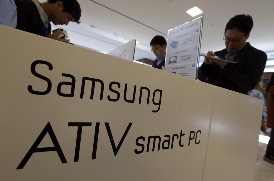Samsung sees 10 percent growth in PC sales
