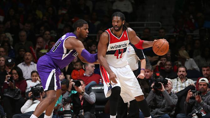 Nene leads Wizards past Kings, 93-84