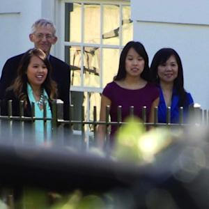 Nurse Nina Pham visits White House after being cleared of Ebola