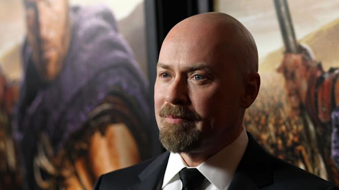 """Steven S. DeKnight arrives at the premiere of """"Spartacus: War of the Damned"""" on Tuesday, Jan. 22, 2013 in Los Angeles. """"Spartacus: War of the Damned"""" premieres Friday, Jan. 25 at 9PM on STARZ. (Photo by Matt Sayles/Invision for STARZ/AP Images)"""