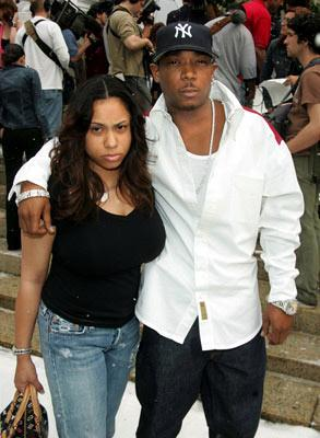 Ja Rule and Aisha Atkins at the New York premiere of Twentieth Century Fox's The Day After Tomorrow