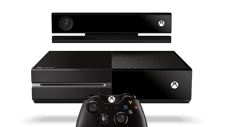 "This product image released by Microsoft shows the new Xbox One entertainment console that will go on sale later this year.  Microsoft is seeking to stay ahead of rivals in announcing that new content that can be downloaded for the popular ""Call of Duty"" game will launch first on Xbox One.  Microsoft says more games will be shown at next month's E3 video game conference in Los Angeles.  (AP Photo/Microsoft)"