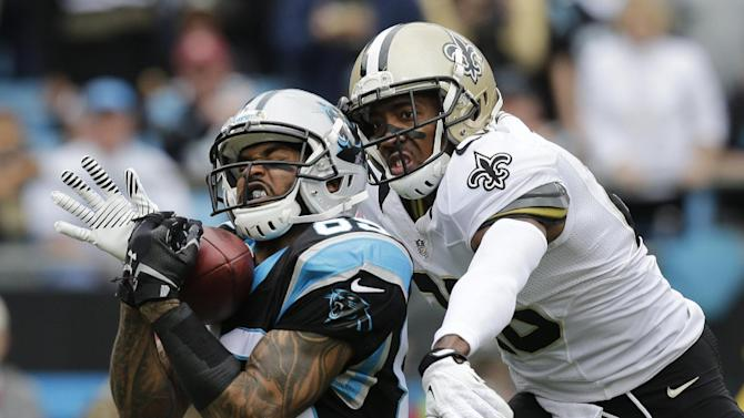 Panthers WR Smith out Sunday against Falcons