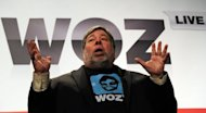 Steve Wozniak, who co-founded Apple Computers with Steve Jobs in 1976, seen here during his address to business leaders at Woz Live in Sydney, on May 14. Wozniak has warned Mark Zuckerberg about the dangers of going public as Facebook counts down to its hotly anticipated share offering