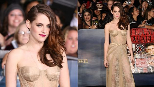 Kristen Stewart at 'The Twilight Saga: Breaking Dawn -- Part 2' premiere in Los Angeles  -- Getty Images