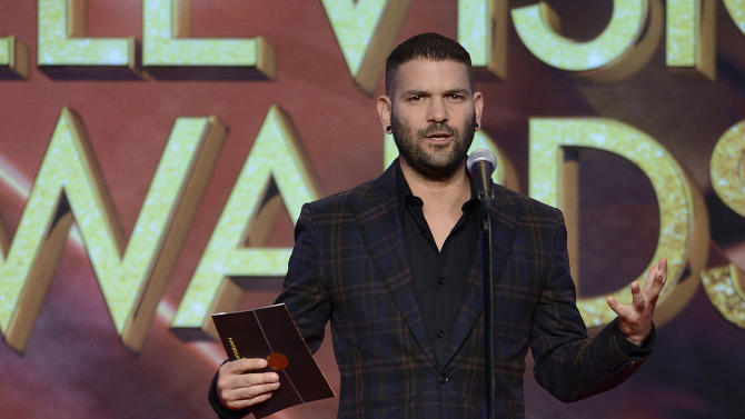 Guillermo Diaz presents an award onstage at the 34th College Television Awards presented by the Academy of Television Arts & Sciences Foundation at the JW Marriott Los Angeles L.A. Live on April 25, 2013 in Los Angeles, California. (Photo by Phil McCarten/Invision for the Academy of Television Arts & Sciences/AP Images)
