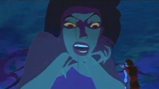Sinbad: Legend Of The Seven Seas Scene: Eris Underwater