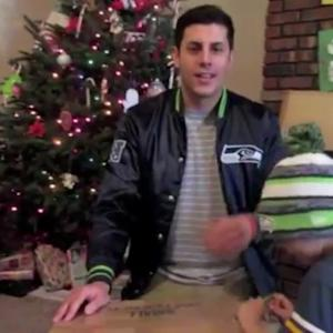 Seattle Seahawks Send Fan the Christmas Gift of a Lifetime