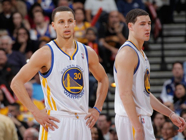 "Steph Curry and Klay Thompson will be looking to make a ""Splash"" in the Playoffs (Getty Images)"